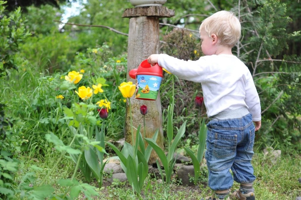 7 tips om je tuin kindvriendelijk in te richten